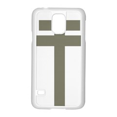 Cross Of Loraine Samsung Galaxy S5 Case (white)