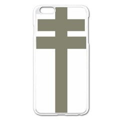 Cross Of Loraine Apple Iphone 6 Plus/6s Plus Enamel White Case