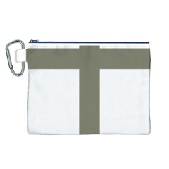 Cross of Loraine Canvas Cosmetic Bag (L)