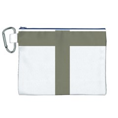 Cross Of Loraine Canvas Cosmetic Bag (xl)