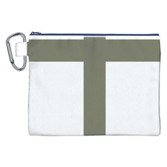 Cross Of Loraine Canvas Cosmetic Bag (xxl)