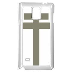 Cross Of Loraine Samsung Galaxy Note 4 Case (white)
