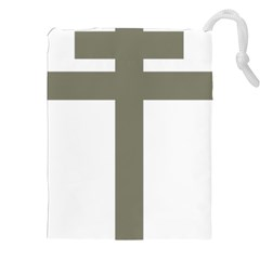 Cross Of Loraine Drawstring Pouches (xxl)