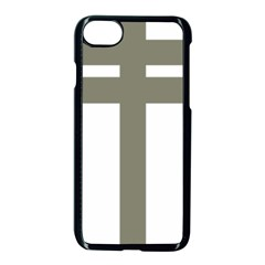 Cross Of Loraine Apple Iphone 7 Seamless Case (black)