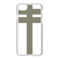 Cross Of Loraine Apple Iphone 7 Seamless Case (white)