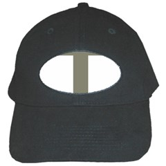 Cross Of Lorraine  Black Cap