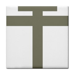 Cross Of Lorraine  Tile Coasters