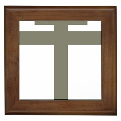 Cross Of Lorraine  Framed Tiles