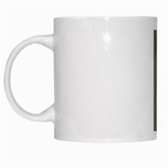 Cross Of Lorraine  White Mugs