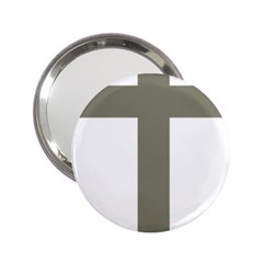 Cross of Lorraine  2.25  Handbag Mirrors