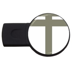 Cross of Lorraine  USB Flash Drive Round (1 GB)