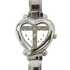 Cross Of Lorraine  Heart Italian Charm Watch