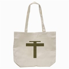 Cross of Lorraine  Tote Bag (Cream)
