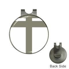 Cross Of Lorraine  Hat Clips With Golf Markers