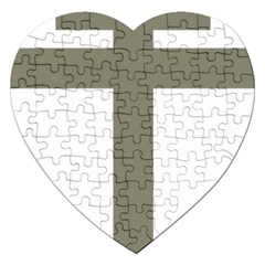 Cross Of Lorraine  Jigsaw Puzzle (heart)