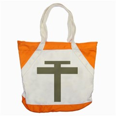 Cross Of Lorraine  Accent Tote Bag