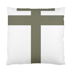 Cross Of Lorraine  Standard Cushion Case (one Side)