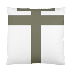 Cross Of Lorraine  Standard Cushion Case (two Sides)