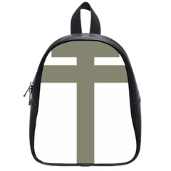 Cross Of Lorraine  School Bags (small)