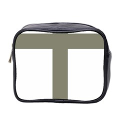 Cross Of Lorraine  Mini Toiletries Bag 2 Side