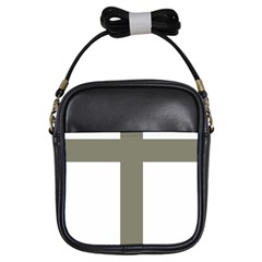 Cross of Lorraine  Girls Sling Bags