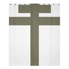 Cross Of Lorraine  Shower Curtain 60  X 72  (medium)