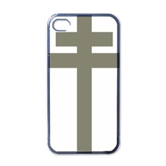 Cross Of Lorraine  Apple Iphone 4 Case (black)