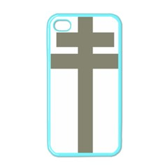 Cross Of Lorraine  Apple Iphone 4 Case (color)