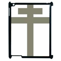 Cross Of Lorraine  Apple Ipad 2 Case (black)