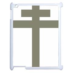 Cross Of Lorraine  Apple Ipad 2 Case (white)