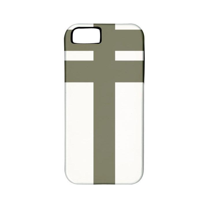 Cross of Lorraine  Apple iPhone 5 Classic Hardshell Case (PC+Silicone)