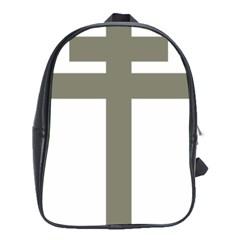 Cross Of Lorraine  School Bags (xl)