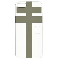 Cross Of Lorraine  Apple Iphone 5 Hardshell Case With Stand