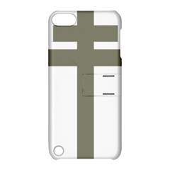 Cross Of Lorraine  Apple Ipod Touch 5 Hardshell Case With Stand