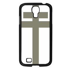 Cross of Lorraine  Samsung Galaxy S4 I9500/ I9505 Case (Black)