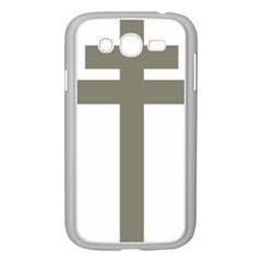 Cross Of Lorraine  Samsung Galaxy Grand Duos I9082 Case (white)