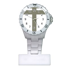 Cross Of Lorraine  Plastic Nurses Watch
