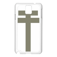 Cross of Lorraine  Samsung Galaxy Note 3 N9005 Case (White)