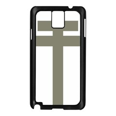 Cross of Lorraine  Samsung Galaxy Note 3 N9005 Case (Black)