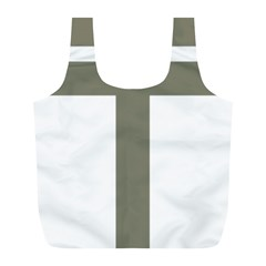 Cross of Lorraine  Full Print Recycle Bags (L)