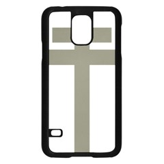 Cross Of Lorraine  Samsung Galaxy S5 Case (black)