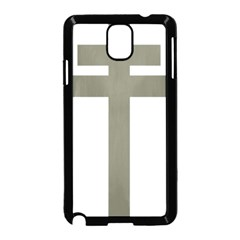 Cross Of Lorraine  Samsung Galaxy Note 3 Neo Hardshell Case (black)