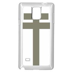 Cross Of Lorraine  Samsung Galaxy Note 4 Case (white)