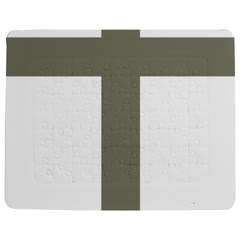 Cross Of Lorraine  Jigsaw Puzzle Photo Stand (rectangular)