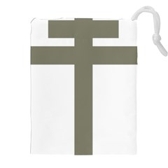 Cross Of Lorraine  Drawstring Pouches (xxl)