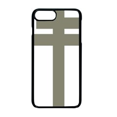 Cross Of Lorraine  Apple Iphone 7 Plus Seamless Case (black)