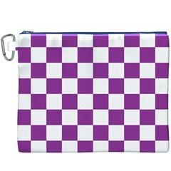Pattern Canvas Cosmetic Bag (XXXL)