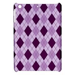 Plaid pattern Apple iPad Mini Hardshell Case