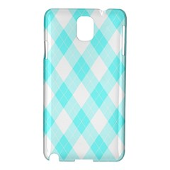 Plaid Pattern Samsung Galaxy Note 3 N9005 Hardshell Case