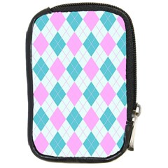 Plaid pattern Compact Camera Cases